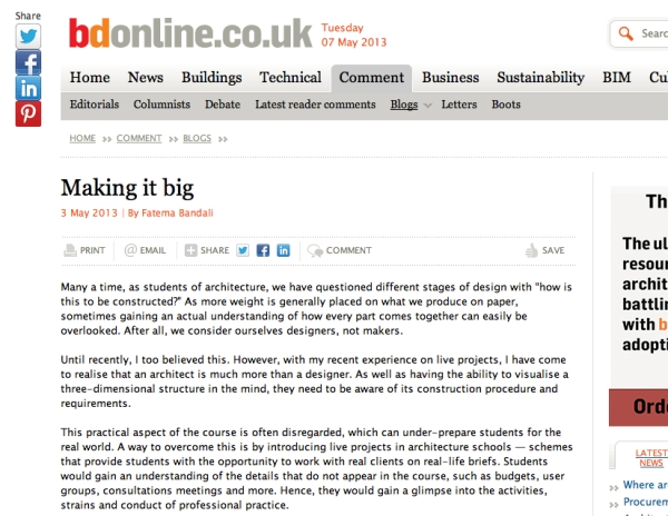 bd blog article