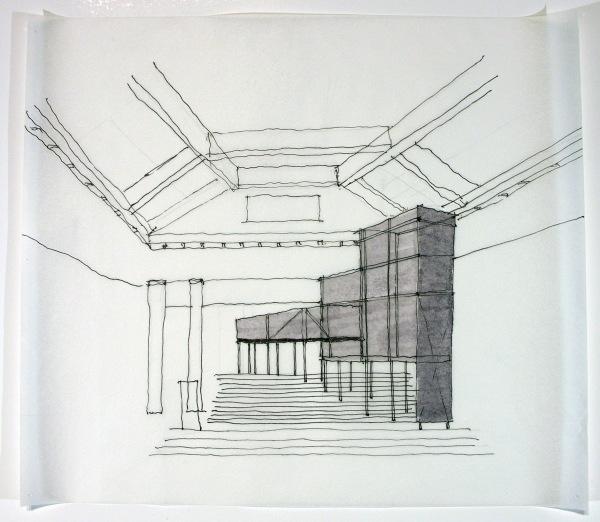 Perspective Sketch: Wiener Worksaette