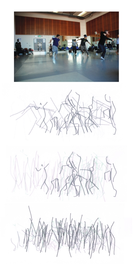 DanceXchange Workshop Images. Sketches