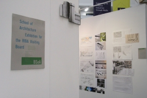 Birmingham School of Architecture RIBA exhibition