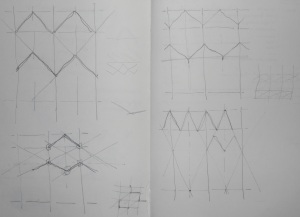 sketches exploring an additional frame