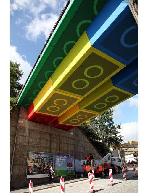 BRIDGE TRANSFORMED INTO GIANT LEGO BRICKS BY GERMAN STREET ARTIST MEGX.jpg