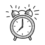 hand-drawn-alarm-clock-icon-by-Vexels